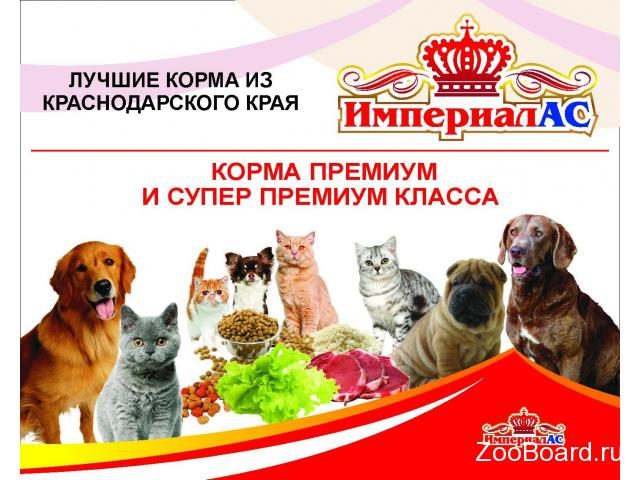 """Корм для собак """"ИМПЕРИАЛ-АС"""" в Москве - 1/4"""